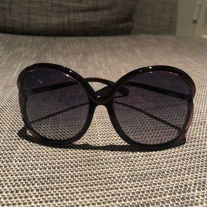 Tom Ford Sunglasses Rhi in Dark Purple
